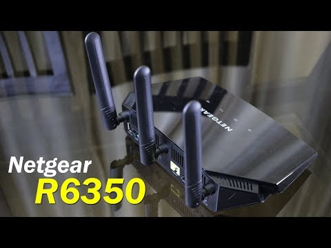 Netgear R6350 AC1750 Smart WiFi Router for home / office use for Rs