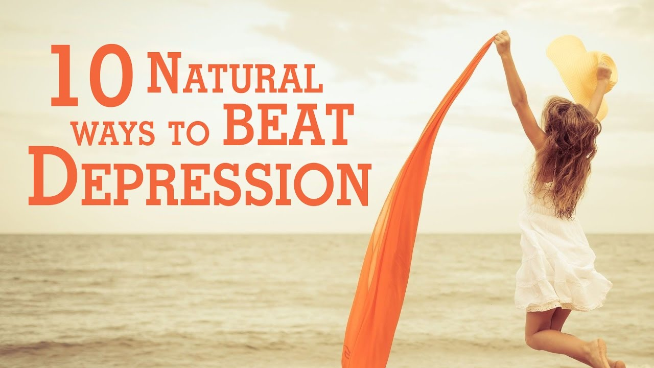 natural ways to cope with depression
