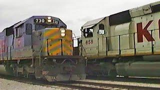1995 03 13   Chasing KCS Grain Trains