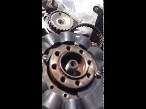 How to fix mercury outboard timing belt Stater flywheel