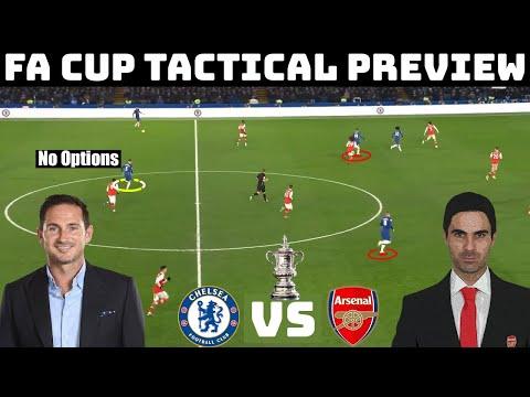 FA Cup Final Tactical Preview: Arsenal vs Chelsea | Lampard vs Arteta Potential Tactics |