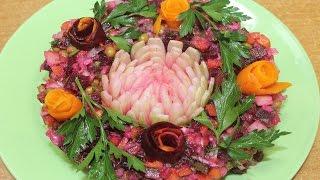 Винегрет классический рецепт салата на праздничный стол