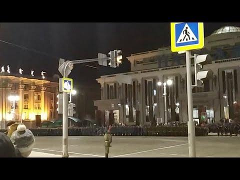 Репетиция Парада Победы 2019. Екатеринбург.