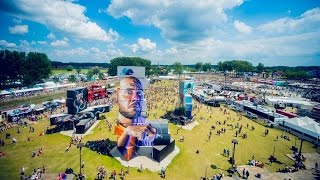 Time to relax at North West Walls | Rock Werchter 2015