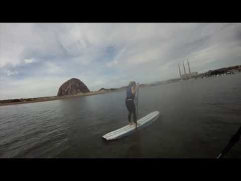 STAND UP PADDLEBOARDING IN MORRO BAY, CA 11.16.2014