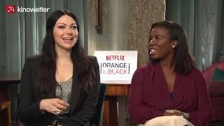 Interview Laura Prepon Uzo Aduba ORANGE IS THE NEW BLACK