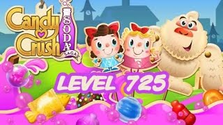 Candy Crush Soda Saga Level 725
