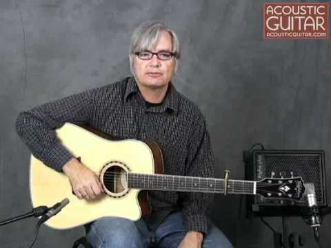 Acoustic Guitar Review - Washburn WD10SCE Review
