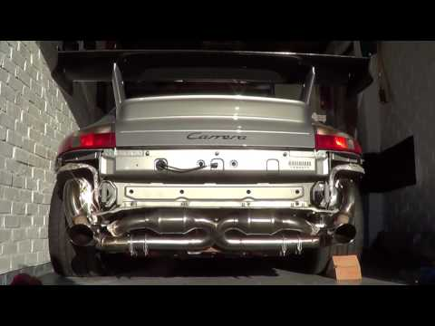 Porsche 996.1 200 Cell X Flow Cats and Dansk Sport Boxes