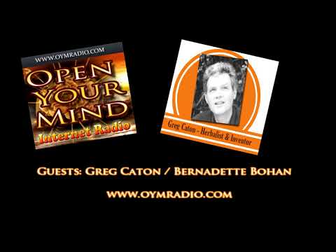 Open Your Mind (OYM) Radio - Greg Caton / Bernadette Bohan - 18th Feb 2018