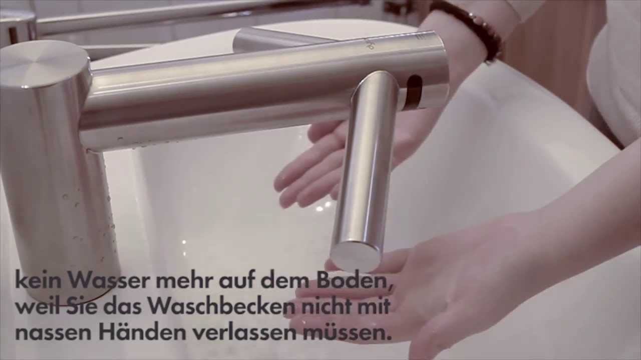 dyson tap der wasserhahn mit h ndetrockner youtube. Black Bedroom Furniture Sets. Home Design Ideas