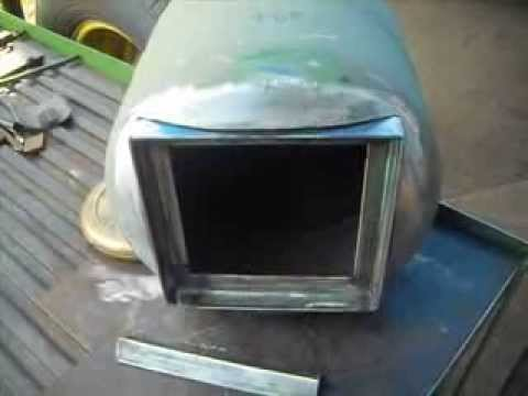 Propane Tank Camp Stove Part 1 Youtube