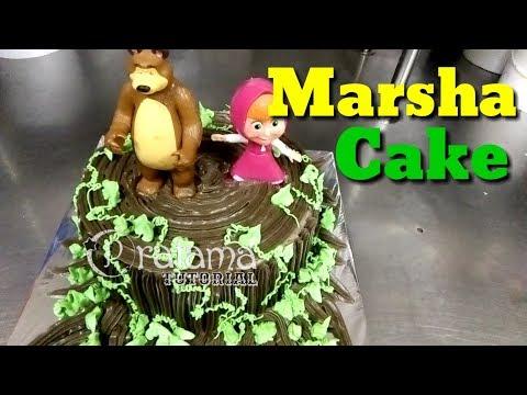 tart-ulang-tahun-tema-marsha-and-the-bear