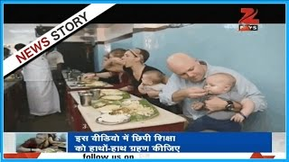 DNA: Encouraging the traditional Indian habit of eating food with hands