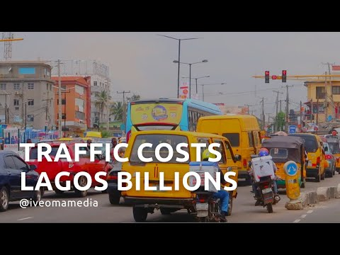 How does the MASSIVE TRAFFIC in Lagos Nigeria impact businesses?   #Transportation