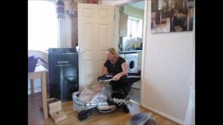 Unboxing Review New iCandy Strawberry Pushchair Stroller for toddlers and babies
