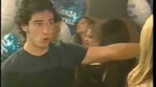 Mia le da una cachetada a Miguel - Rebelde - RBD
