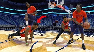 1vs1 Against NBA Star Julius Randle In The Post Only *GONE WRONG*