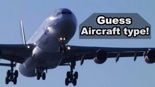 airplane landings compilation guess aircraft type competition 3