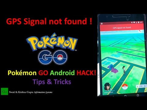 pokemon go gps signal not found fix, failed to detect location fix