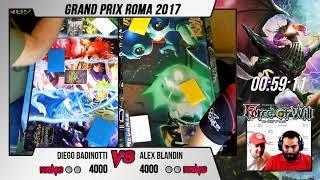 GP Roma 2017 | Feature Match Diego Badinotti VS Alex Blandin