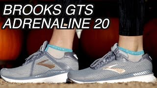 Brooks GTS Adrenaline 20 Review | Most Comfortable SUPPORT Running shoe?