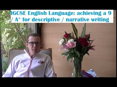 narrative writing igcse