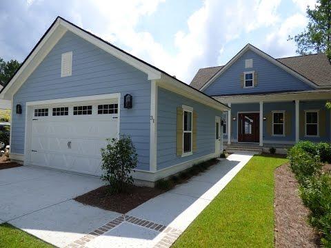 New Hampton Lake Home By David Weekley In Bluffton SC
