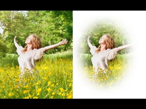 How to Make a Photoshop Vignette Effect Action  Vignette Effect Photoshop