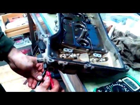 Простая проверка работы клапана VVTI