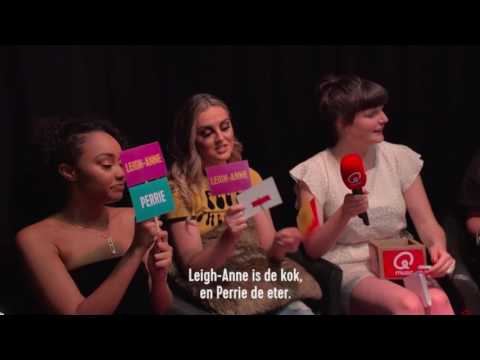 Little Mix Q Music Interview In Belgium | Who's Most Likely To - 02/06/17