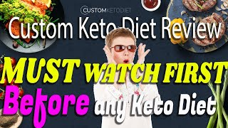 Custom Keto diet review - Review of the Custom Keto diet meal plan - What is Keto - Learn how to