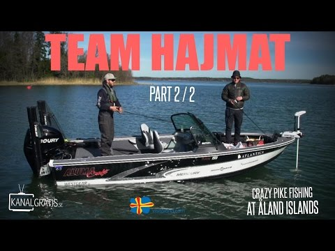 Crazy Pike fishing at Åland Islands - TEAM HAJMAT - Part 2/2 - Kanalgratis.se