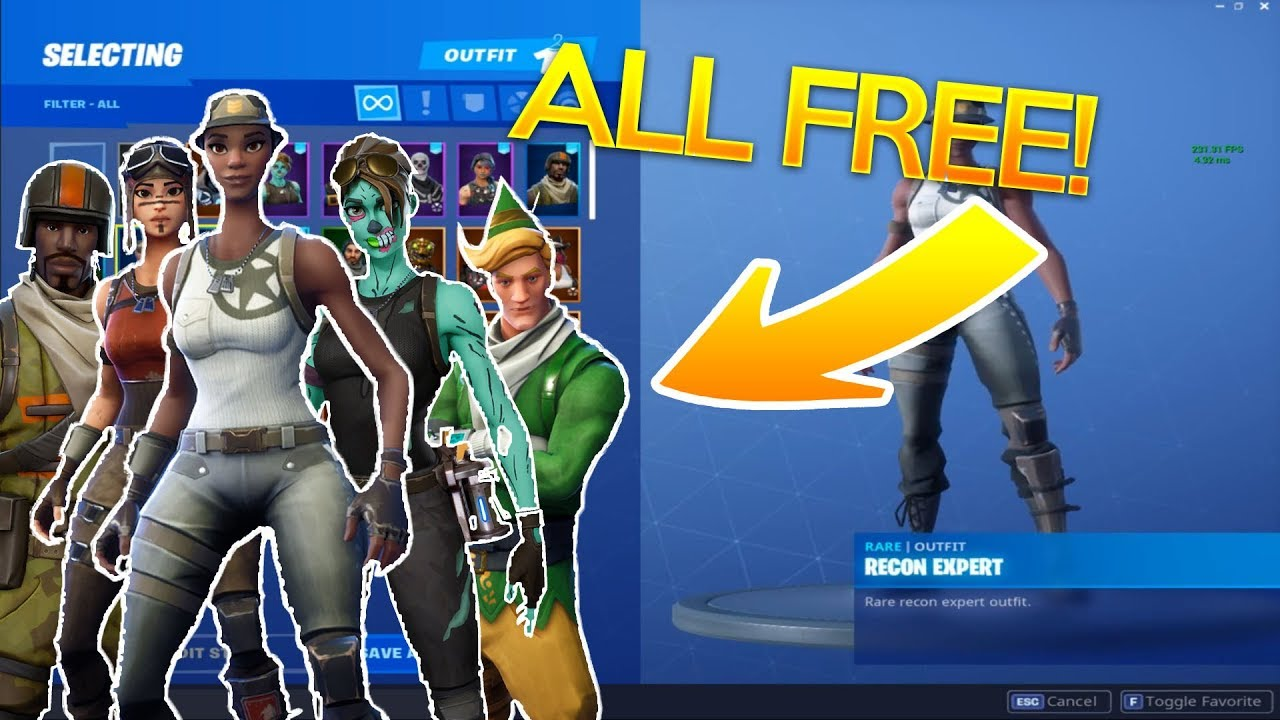 How to get RARE Fortnite Skins for FREE! (Fortnite Skin ...