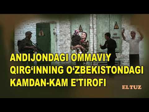 Андижондаги оммавий қирғиннинг Ўзбекистондаги камдан-кам эътирофи