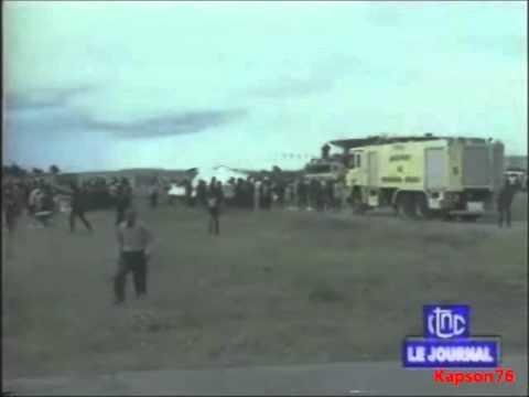 Crash d'un avion de la MONUSCO à l'aéroport de N'Djili