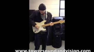 LaGrange at the TSV Shop with Strat and AC30