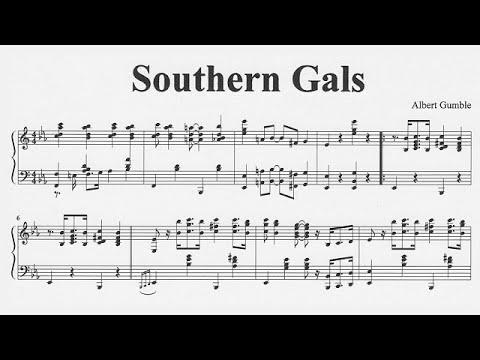 Albert Gumble : Southern Gals (1917)