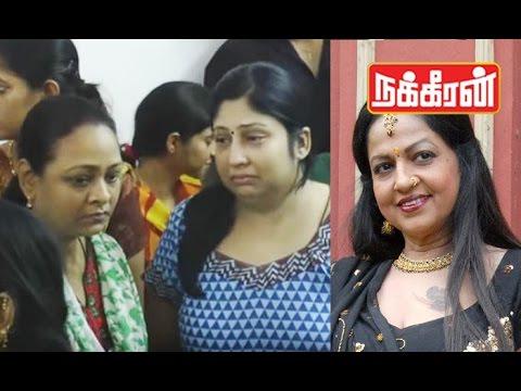 Actress Shakeela pays last respect to Jyothi lakshmi !