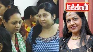 actress shakeela pays last respect to jyothi lakshmi