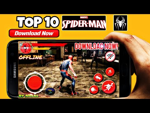 TOP 10 Spider-man Games For Android  free,offline/online,psp,console,Dolphin Emulator,Download 2019