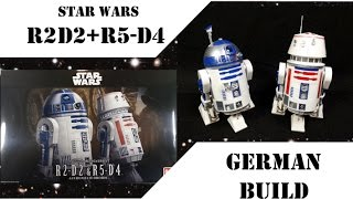 R2D2 R5D4 Star Wars 1:12 von Bandai German build