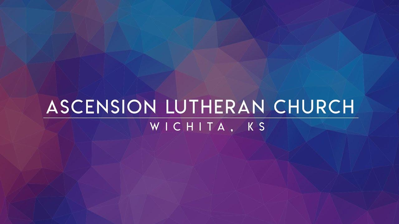 April 6, 2021 Dr. Greg Seltz Ascension Lutheran Church