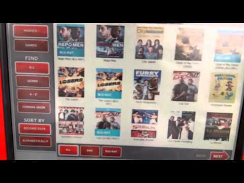 How To Rent A DVD From Redbox