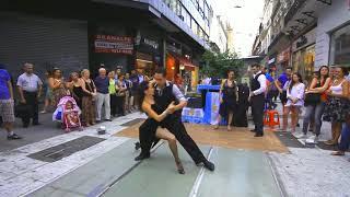 Аргентинское Танго на улице Буэнос - Айреса.