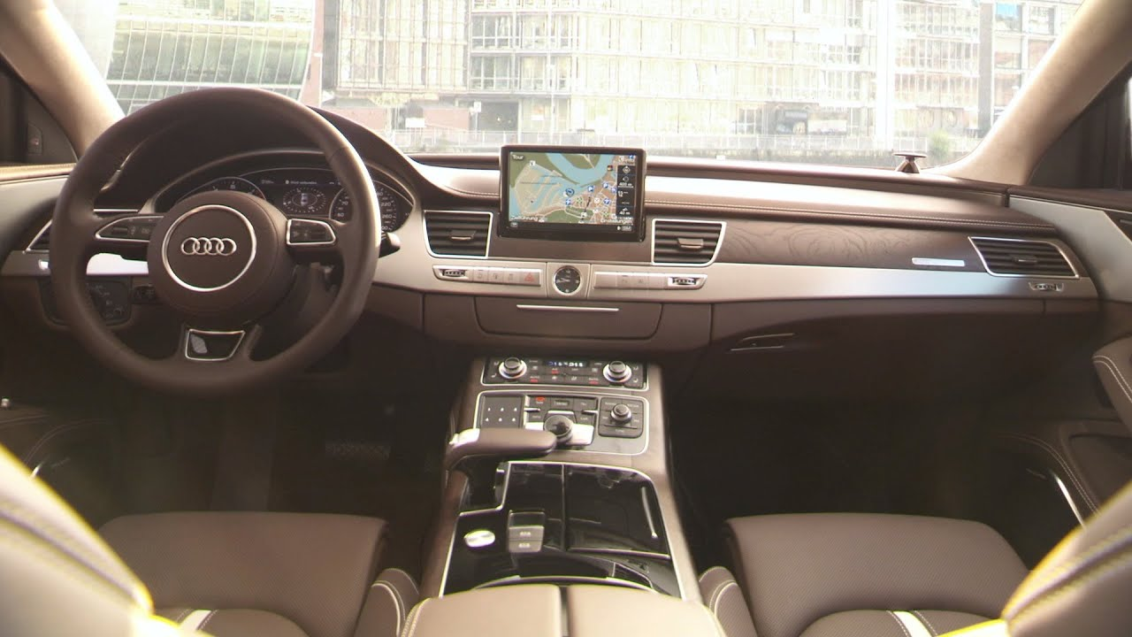 2015 Audi A8 Interior Youtube