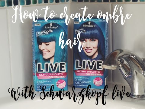 How to create ombre hair with Schwarzkopf live