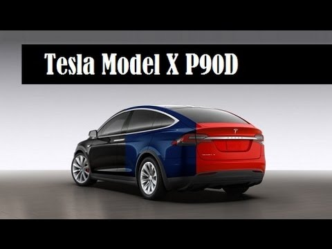 tesla model x p90d price 5k more than model s starts delivery sept 29 youtube. Black Bedroom Furniture Sets. Home Design Ideas