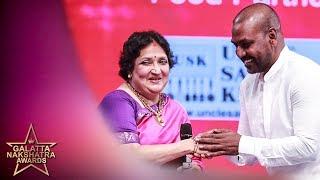 Thalaivar is late ; No one can Imitate Kaala - Lawrence & Latha Rajinikanth |Galatta Nakshatra Award