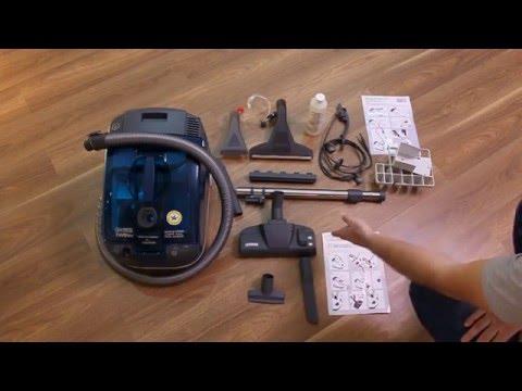 Thomas Twin T1 aquafilter | Обзор и применение моющего пылесоса | Моющий пылесос